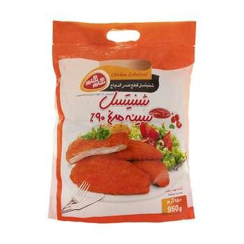 شنیتسل سینه مرغ 90 درصد شام شام - 950 گرم