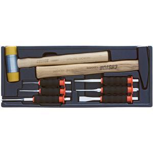 مجموعه 8 عددی قلم و چکش کاستور مدل HP-12008S