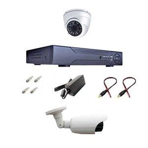 پک سیستم امنیتی حفاظتی دوربین مداربسته نظارتی مدل SX4001A