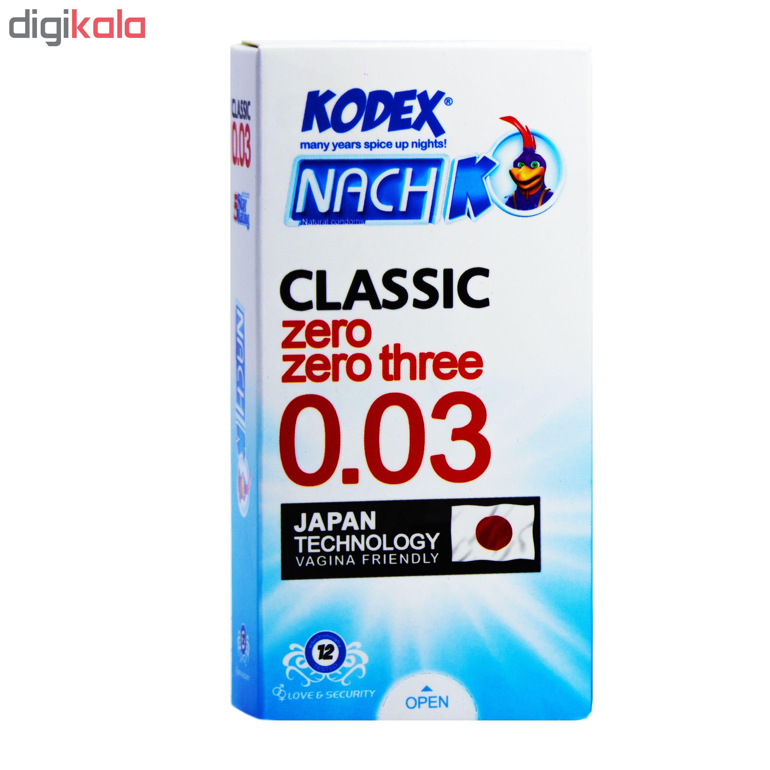 کاندوم ناچ کدکس مدل 0.03 بسته 12 عددی main 1 1