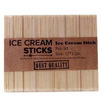 چوب بستنی sticks کد 100 بسته 60 عددی