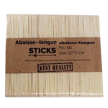چوب بستنی sticks کد 200 بسته 60 عددی