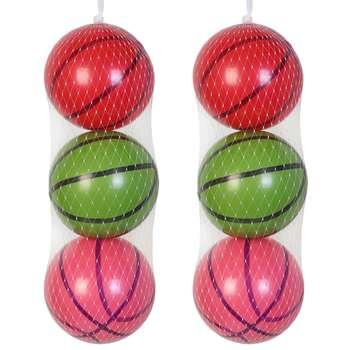 توپ بادی مدل بسکتبال بسته 6 عددی