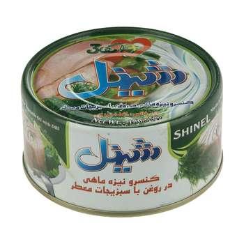 کنسرو نیزه ماهی در روغن با سبزیجات معطر شینل - 180 گرم