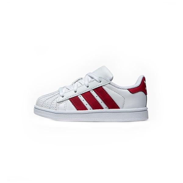 کفش ورزشی نوزادی آدیداس سری Superstar مدل CQ2858