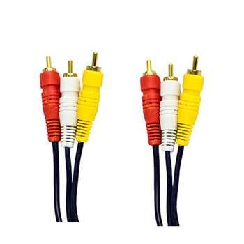 کابل 3 به 3 RCA وریتی کد 135 طول 1.8 متر