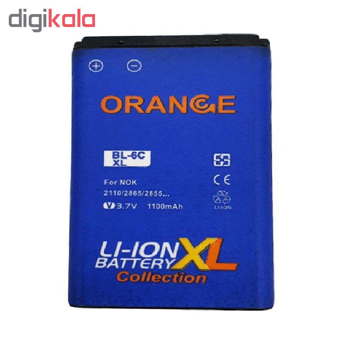 باتری موبایل مدل BL-6C با ظرفیت 1100 میلی آمپر ساعت مناسب برای گوشی موبایل نوکیا E70  main 1 1