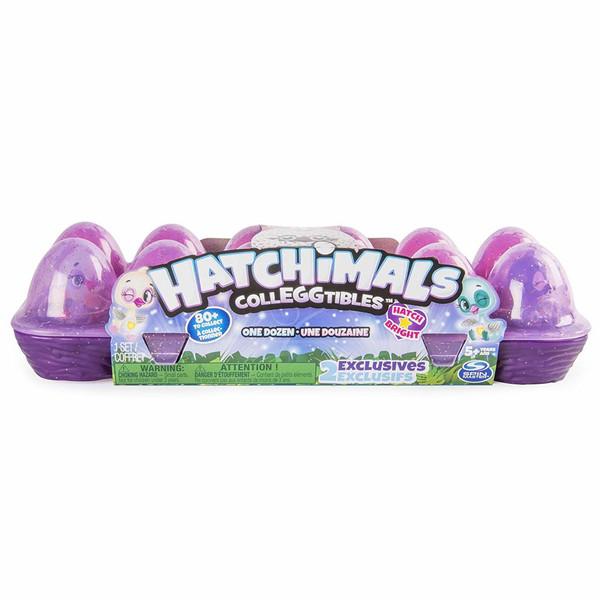 عروسک شانسی اسپین مستر مدل Hatchimals Colleggtibles بسته 12 عددی