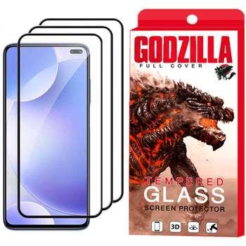 محافظ صفحه نمایش گودزیلا مدل GGF مناسب برای گوشی موبایل شیائومی Redmi K30 بسته 3 عددی