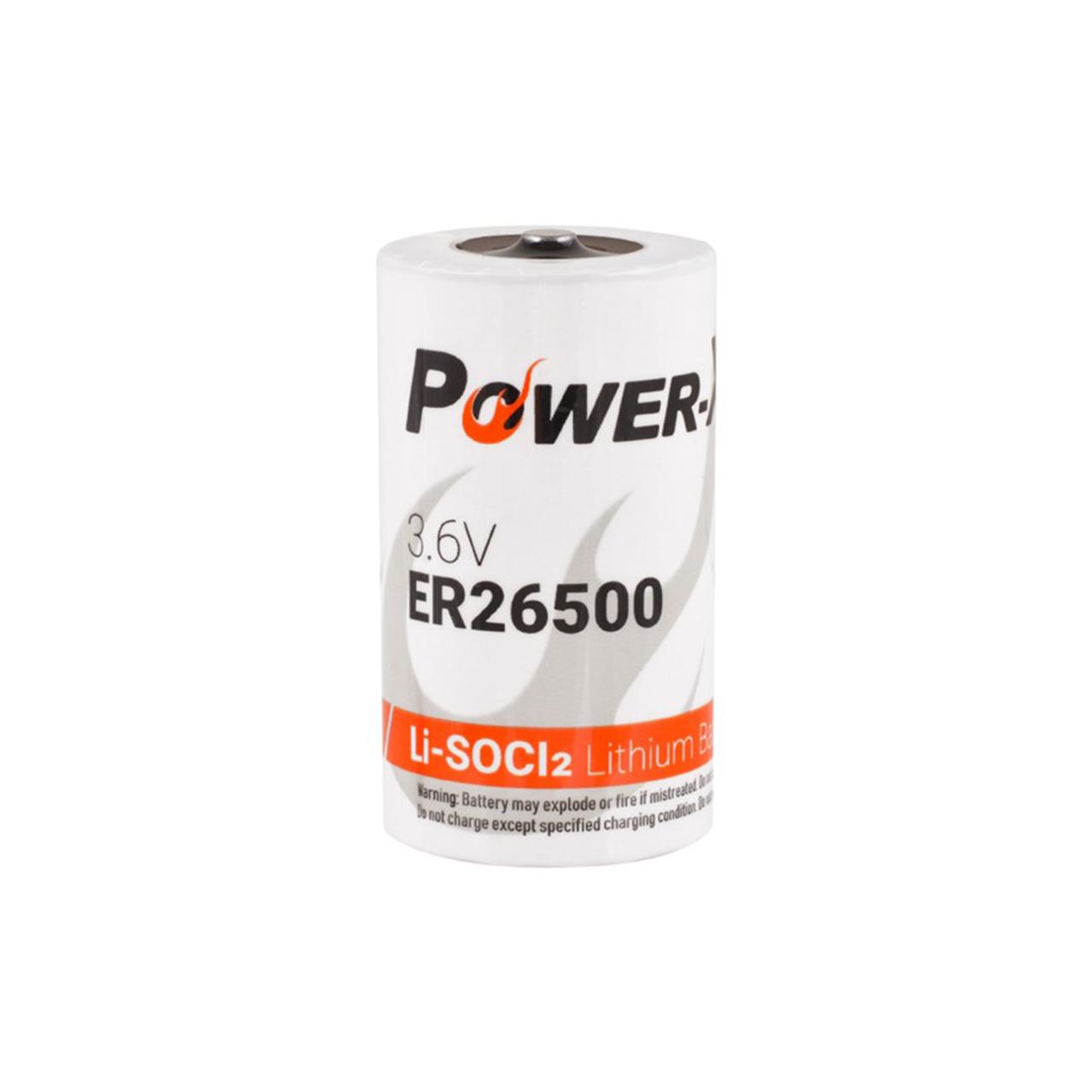 باتری لیتیومی پاوراکسترا مدل ER26500 ظرفیت 9000 میلی آمپر ساعت