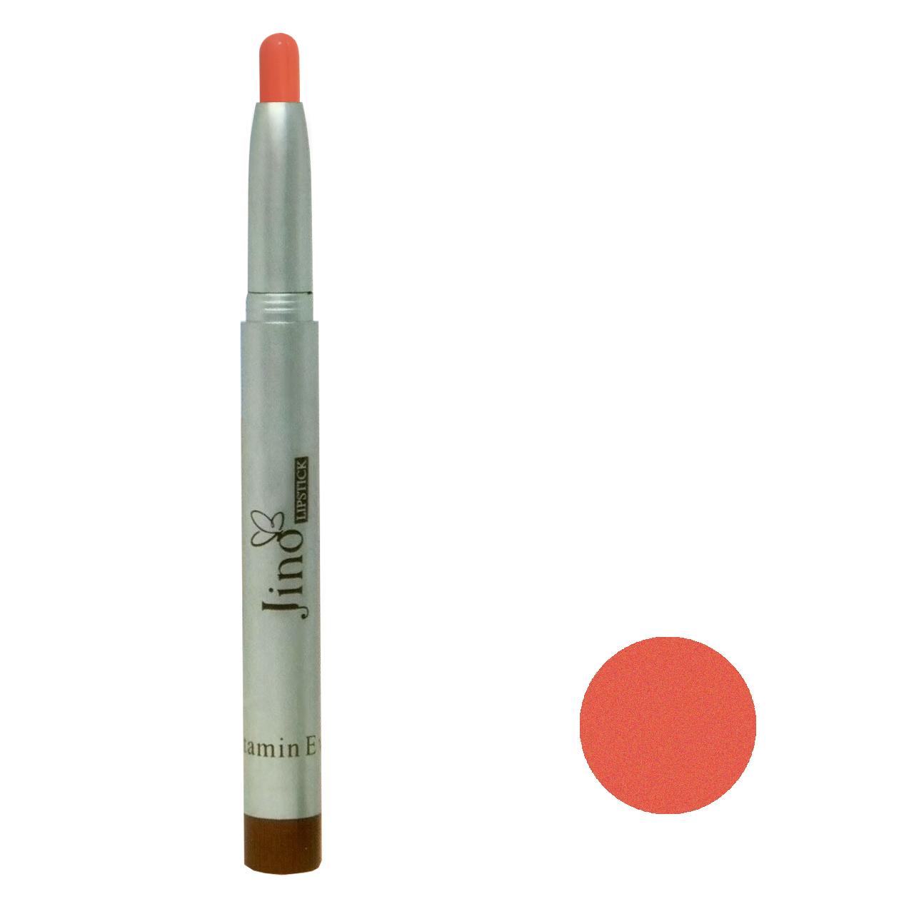 رژ لب مدادی ژینو شماره 112