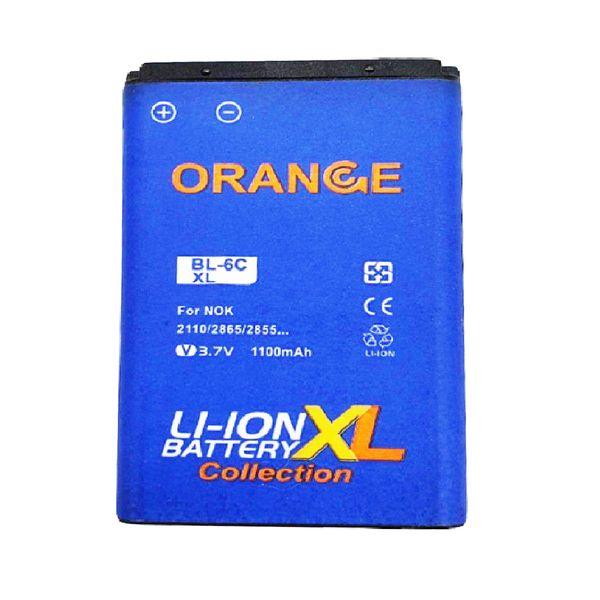 باتری موبایل مدل BL-6C با ظرفیت 1100 میلی آمپر ساعت مناسب برای گوشی موبایل نوکیا E70