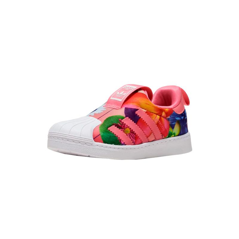 کفش ورزشی نوزادی دخترانه آدیداس سری Superstar 360 Infant مدل CQ2578