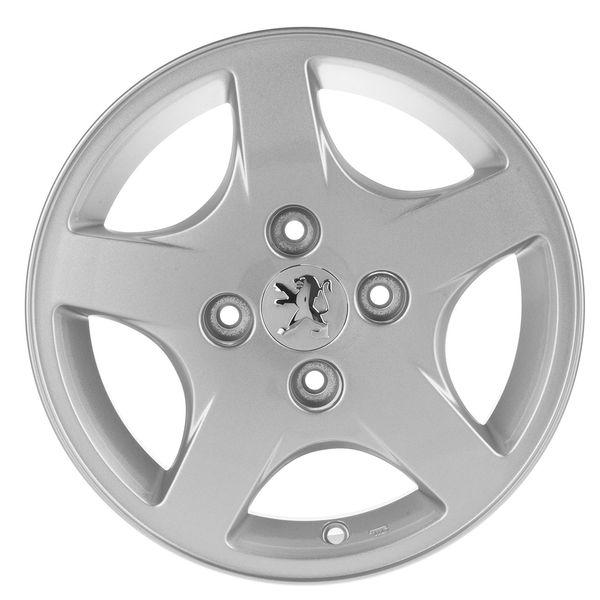 رینگ آلومینیومی چرخ تورنادو اورجینال مناسب برای پژو 206 و 207 دست 4 عددی