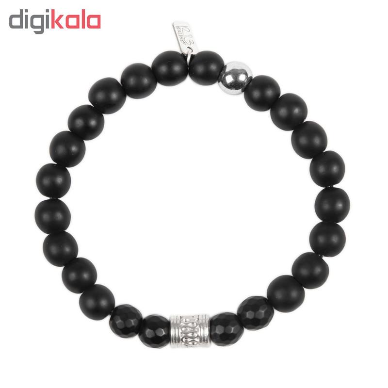 دستبند نقره مردانه ریسه گالری کد Ri3-H1182