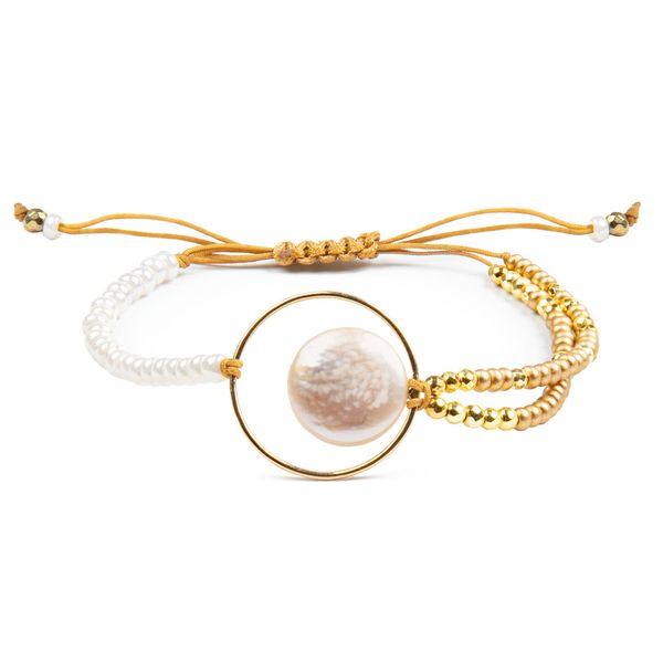 دستبند طلا 18 عیار زنانه ریسه گالری کد Ri3-P1204