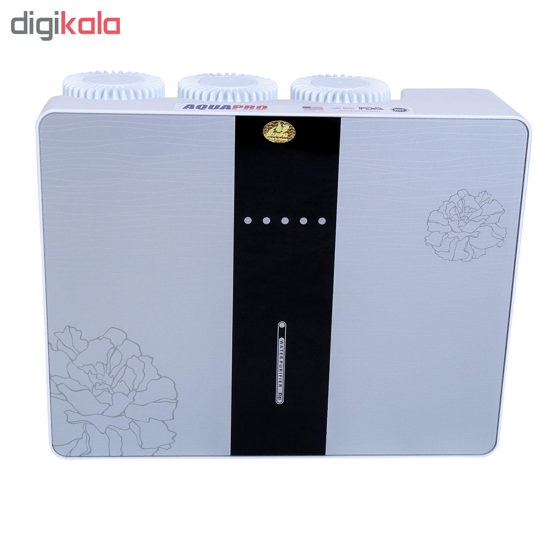 دستگاه تصفیه کننده آب خانگی آکوا پرو مدل RO6-CASE-N