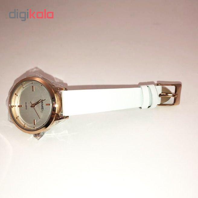 ساعت مچی عقربه ای زنانه اسکمی مدل 1457WH              ارزان