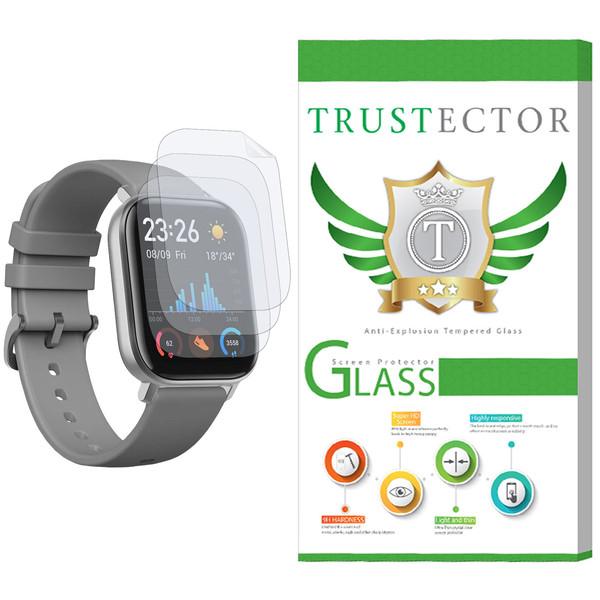 محافظ صفحه نمایش نانو تراستکتور مدل GNF مناسب برای ساعت هوشمند شیائومی Huami Amazfit GTS بسته 3 عددی