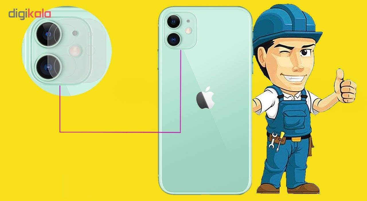 محافظ لنز دوربین مدل LTP مناسب برای گوشی موبایل اپل iPhone 11  main 1 1