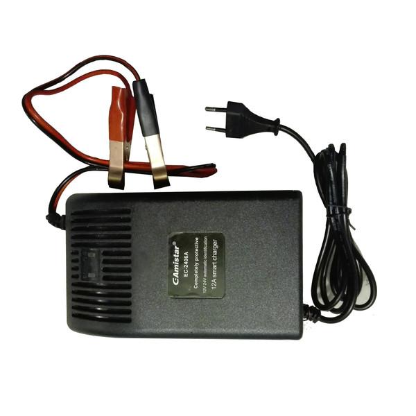 شارژر باتری خودرو جی امستر مدل E18g