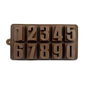 قالب شکلات طرح اعداد کد 707