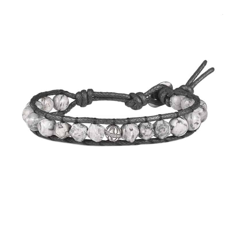 دستبند مردانه درگون جولری مدل WO1