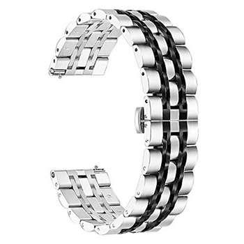 بند مدل LONGINES-2C0022 مناسب برای ساعت هوشمند سامسونگ Galaxy Watch 46mm