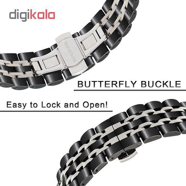 بند مدل LONGINES-7B2C0022 مناسب برای ساعت هوشمند سامسونگ Galaxy Watch 46mm main 1 1
