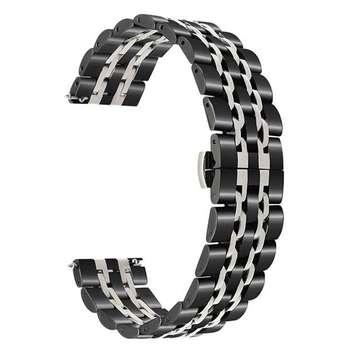 بند مدل LONGINES-2C0020 مناسب برای ساعت هوشمند سامسونگ Galaxy Watch 42mm