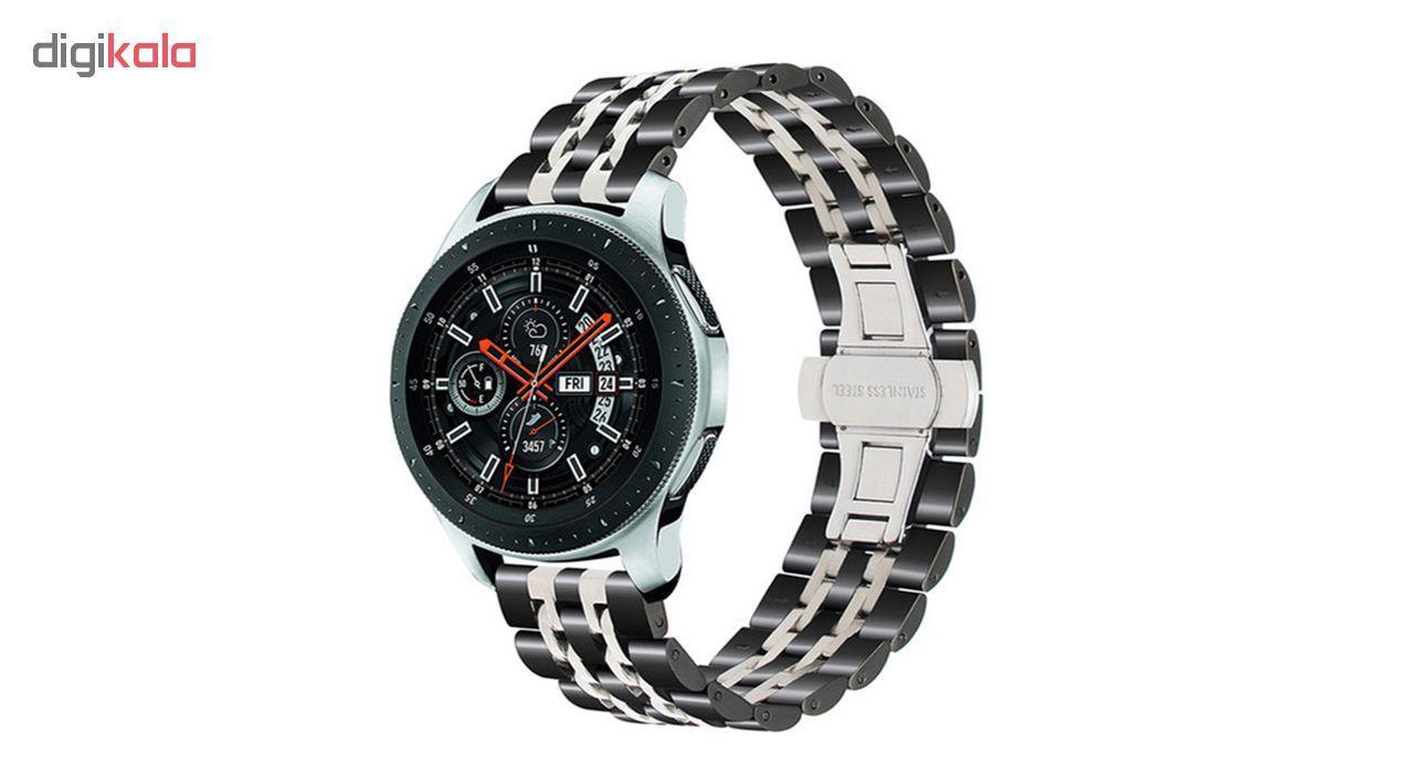 بند مدل LONGINES-7B2C0022 مناسب برای ساعت هوشمند سامسونگ Galaxy Watch 46mm main 1 3