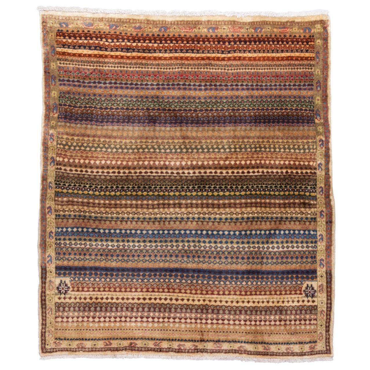 گبه دستباف دو و نیم متری سی پرشیا کد 179081
