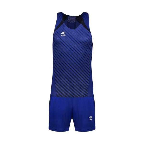 ست تاپ و شلوارک ورزشی مردانه پانیل کد 14011B