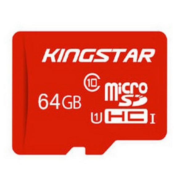 کارت حافظه microSDHC کینگ استار مدل 580X کلاس 10 استاندارد UHS-I U1 سرعت 85MBps ظرفیت 64 گیگابایت