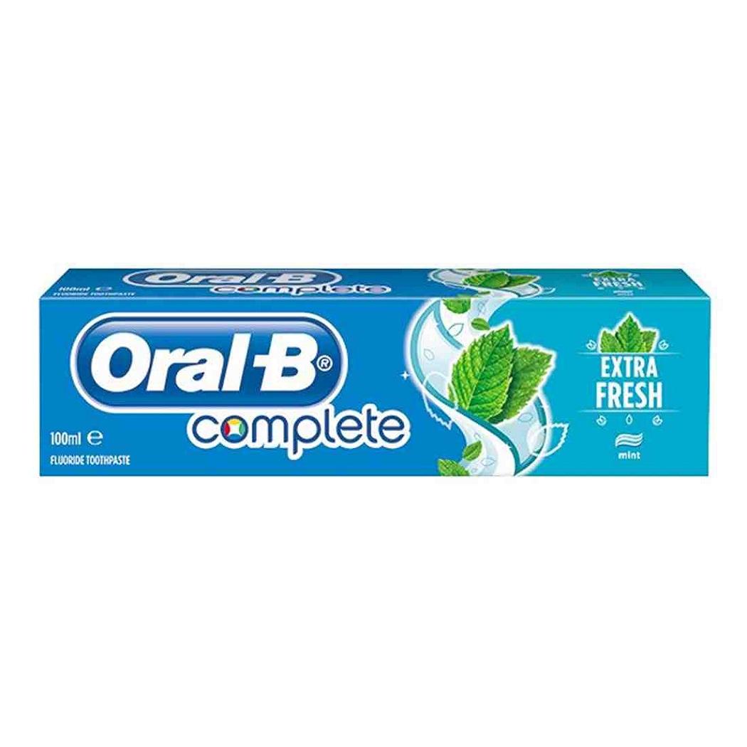 خمیر دندان اورال-بی مدل Extra Fresh حجم 100 میلی لیتر
