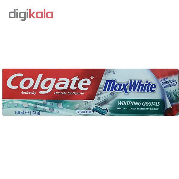 خمیر دندان کلگیت مدل Max White حجم 100 میلی لیتر main 1 1