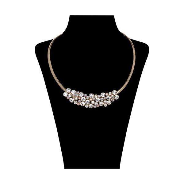 گردنبند زنانه کد GN531085 با سنگ سواروسکی