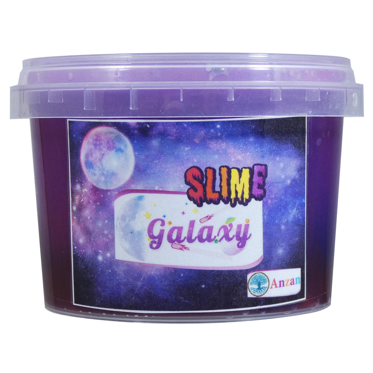 خرید                     ژل بازی اسلایم آنزان طرح کهکشانی مدل GLX300