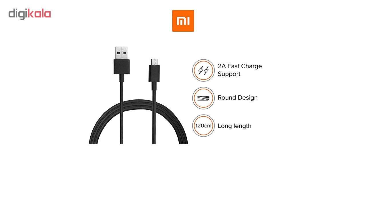 کابل تبدیل USB به microUSB شیائومی مدل SJV4116IN طول 1.2  متر main 1 2