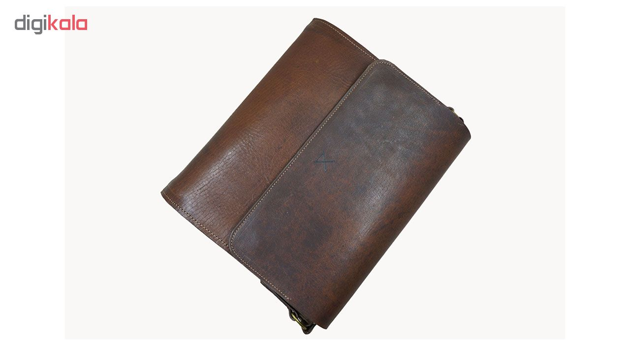 کیف دوشی چرم لانکا مدل SBL-5