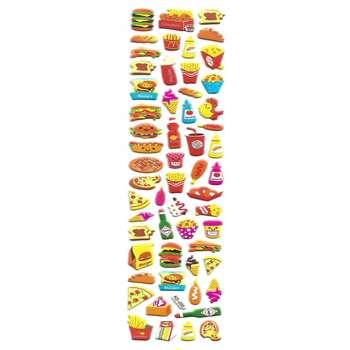 استیکر کودک طرح خوراکی مدل  K033