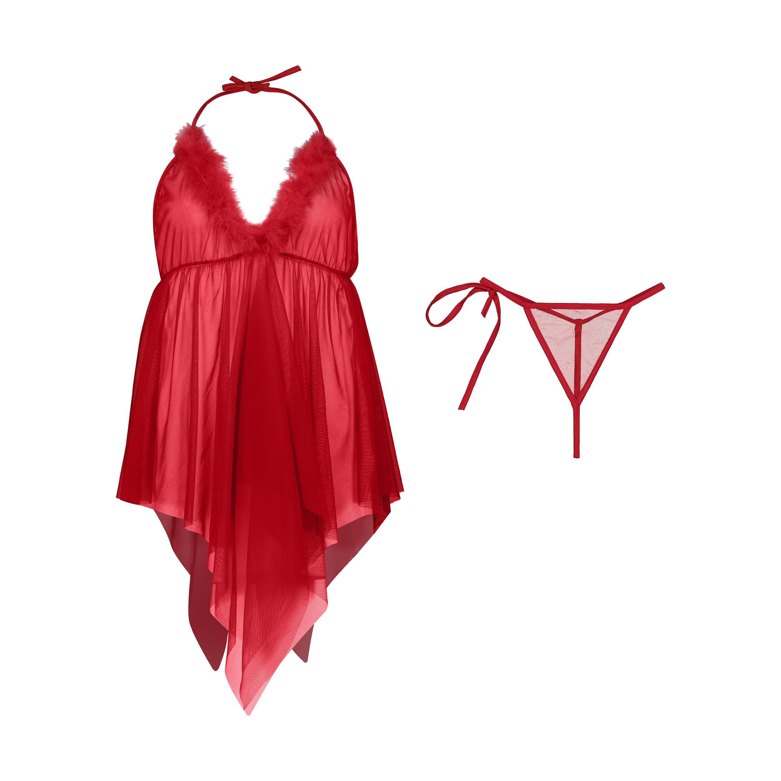 لباس خواب زنانه کد PL154