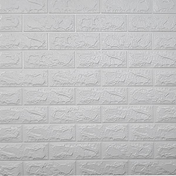 دیوارپوش طرح آجر کد 510 بسته 4 عددی