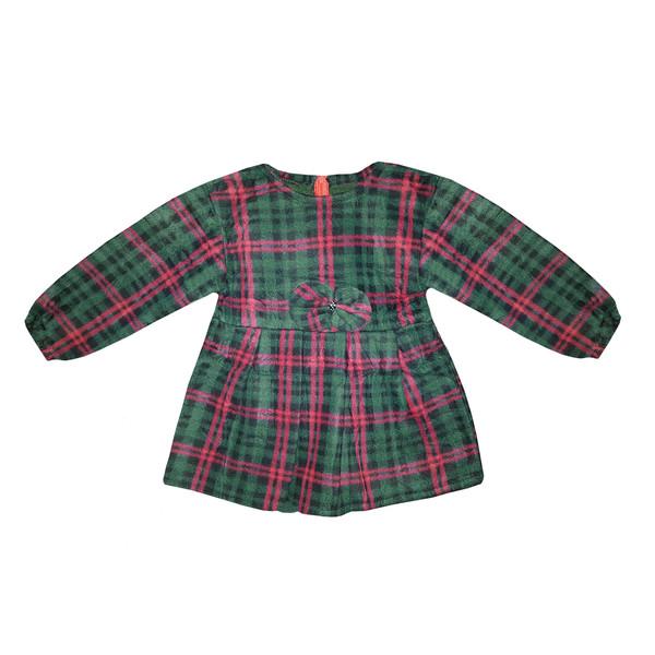 پیراهن دخترانه طرح پاپیون کد 01