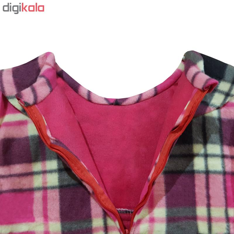 پیراهن دخترانه طرح پاپیون کد 02