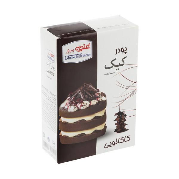 پودر کیک کاکائویی غنچه پرور - 500 گرم