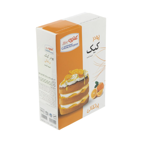 پودر کیک پرتقالی غنچه پرور - 500 گرم