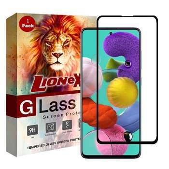 محافظ صفحه نمایش 5D لایونکس مدل CRM مناسب برای گوشی موبایل سامسونگ Galaxy A71
