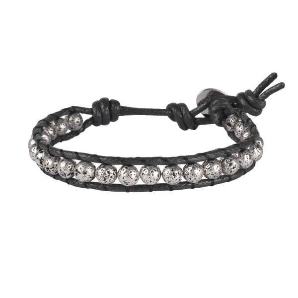 دستبند مردانه درگون جولری مدل WO4
