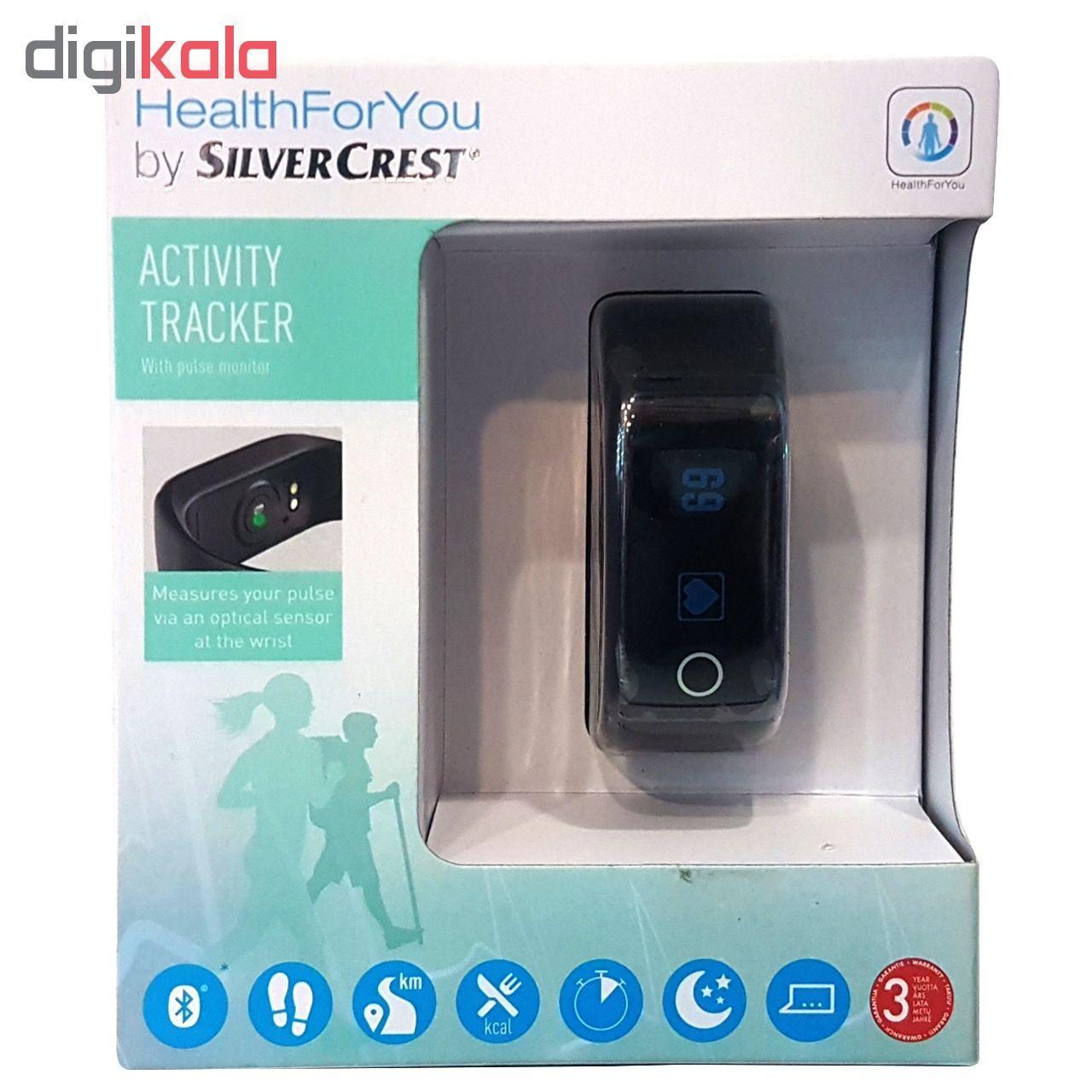 ساعت هوشمند سیلور کرست مدل Activity Tracker main 1 4